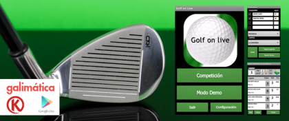 A Golf Mobile Application Image