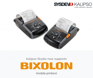 Bixolon Printers now supported by Kalipso Studio Image